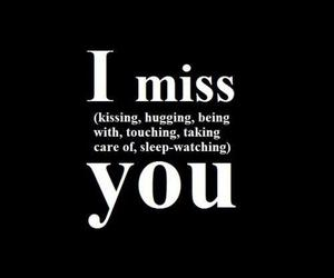 hugging, miss, and i miss you image
