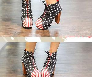clogs, flag, and high heels image