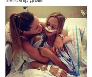 friendship, goals, and friends image