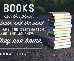 book, home, and quote image