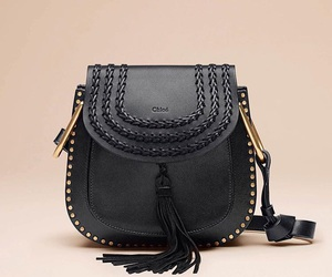 bag, black, and chloe image
