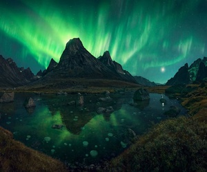 beautiful, aurora borealis, and nature image