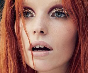 diamonds, eyeshadow, and glitter image