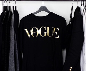 vogue and black image