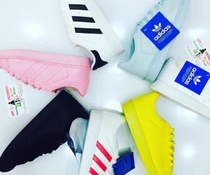 adidas, black, and colors image