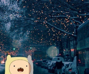 adventure time, christmas, and winter image