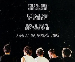 moonlight, sunshine, and one direction image