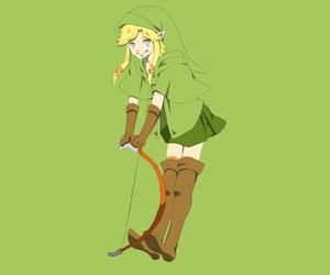 kawaii, link, and video game image