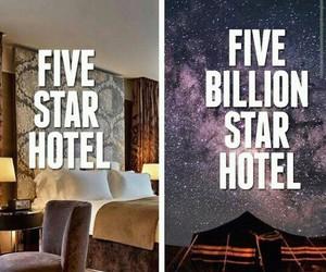 stars, hiking, and hotel image