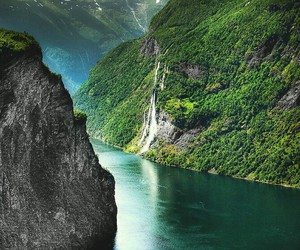 nature, norway, and travel image