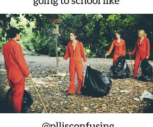 school, pretty little liars, and pll image