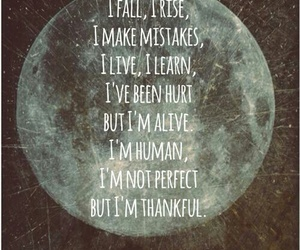 quotes, moon, and life image