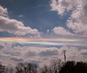 cloud and rainbow image