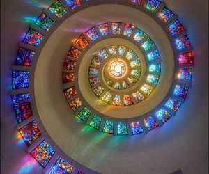 light and spiral image