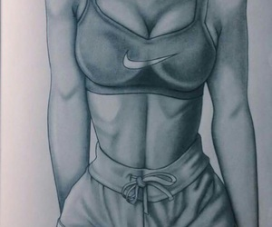nike, art, and body image