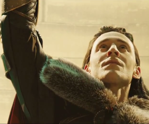 thor, tom hiddleston, and deleted scene image