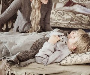 children, mother, and vikings image