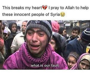 islam, syria, and war image