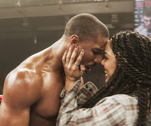 couple, creed, and boxing image
