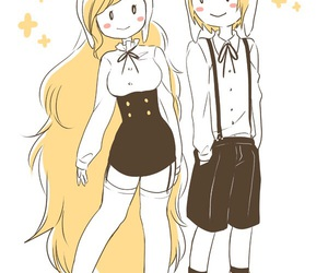 adventure time, finn, and fiona image