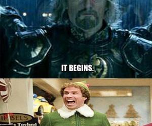christmas, funny, and elf image