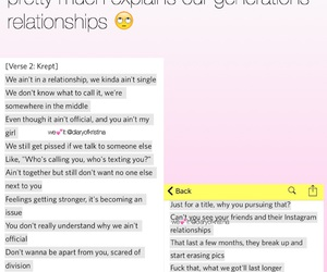 lowkey, relationships, and facts image