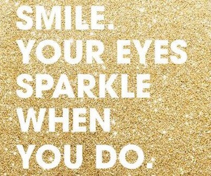 smile, sparkle, and eyes image