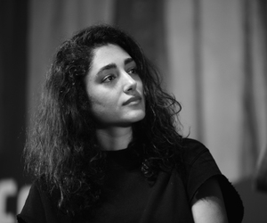 golshifteh farahani, black and white, and girl image