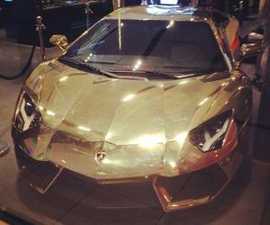gold, Lamborghini, and life image