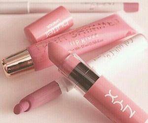 beauty, lip gloss, and lipstick image