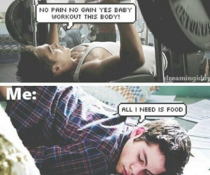 food, workout, and teen wolf image