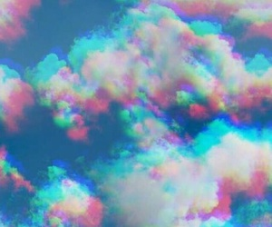 clouds, sky, and 3d image