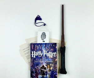 books, harry potter, and love it image