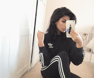 adidas, style, and beauty image