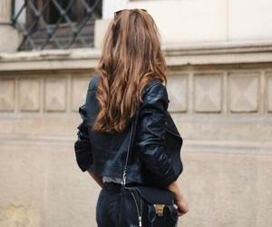 fashion, hair, and brunette image