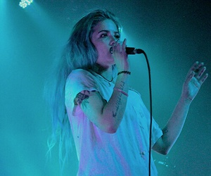 halsey and blue image