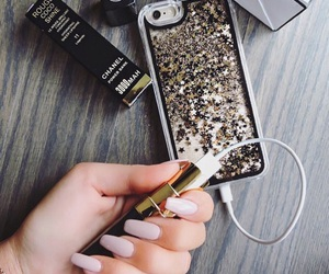 accessories, glitter, and iphone image