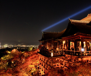 city, japan, and landscape image