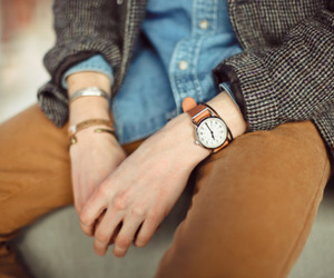 boy and watch image