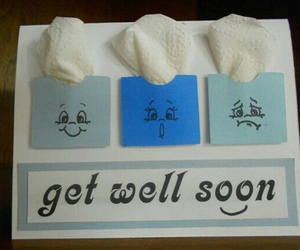 card, gift, and get well soon image