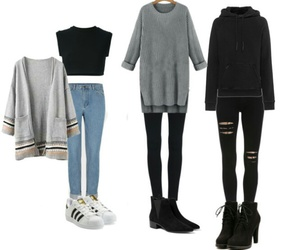 fashion, outfits, and school image