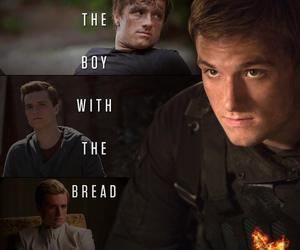 peeta mellark, peeta, and mockingjay image