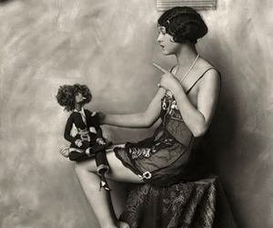 1920, 1920s, and flapper image
