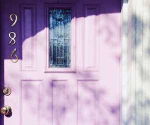 lilac, door, and photography image