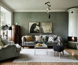 living room, neutrals, and neutral colors image