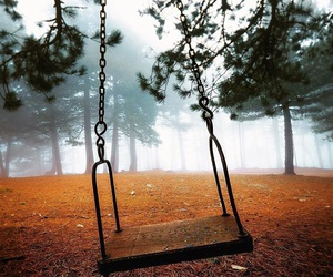 swing and trees image