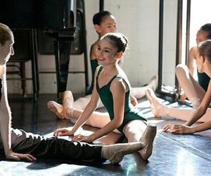 ballet, dance, and bun image