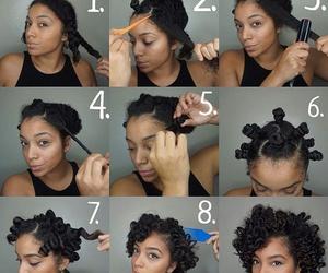 diy, fashion, and natural hair image
