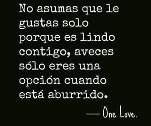 frases, frases en español, and one love image