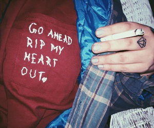 grunge, 5sos, and heart image